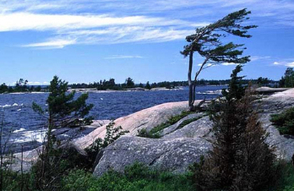 30,000 Islands on Georgian bay, Ontario only minutes away from the cottage